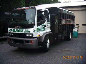 Bradley Tree Experts - One of Our Trucks